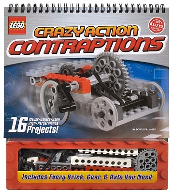 Lego Crazy Action Contraptions [With Legos] Cover Image