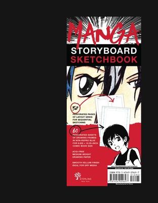 Manga Storyboard Sketchbook Cover Image