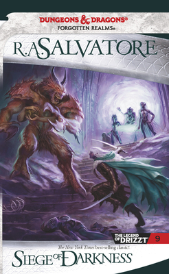 Cover for Siege of Darkness (The Legend of Drizzt #9)