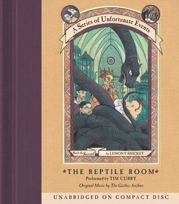 A Series of Unfortunate Events #2: The Reptile Room CD Cover Image