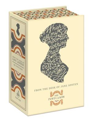From the Desk of Jane Austen: 100 Postcards Cover Image