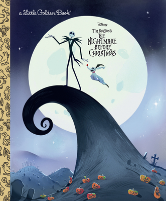 The Nightmare Before Christmas (Disney Classic) (Little Golden Book) Cover Image