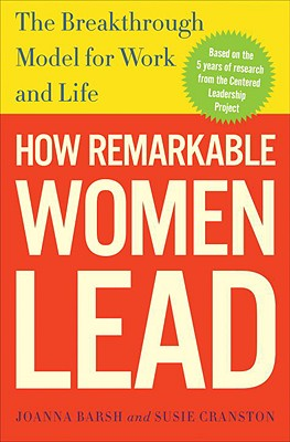 Cover for How Remarkable Women Lead