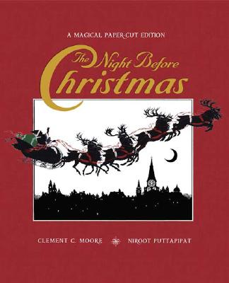 The Night Before Christmas: A Magical Cut-Paper Edition [With Pop-Up Finale] Cover Image