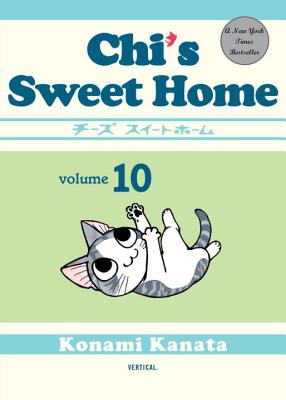 Chi's Sweet Home, volume 10 Cover Image