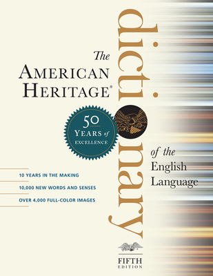 Book cover: The American Heritage Dictionary