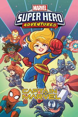 Marvel Super Hero Adventures: Captain Marvel Cover Image