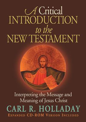 A Critical Introduction to the New Testament Cover
