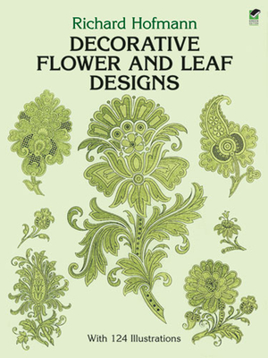 Decorative Flower and Leaf Designs (Dover Design Library) Cover Image