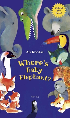 Cover for Where's Baby Elephant?