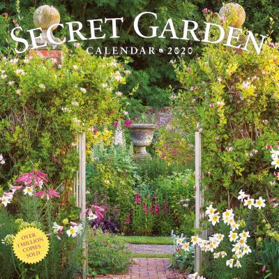 Secret Garden Wall Calendar 2020 Cover Image