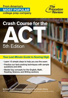 Crash Course for the ACT, 5th Edition cover image