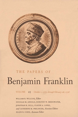 Cover for The Papers of Benjamin Franklin, Vol. 25