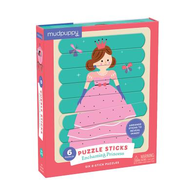 Enchanting Princess Puzzle Sticks Cover Image