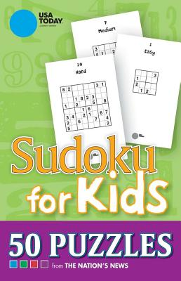 USA TODAY Sudoku for Kids: 50 Puzzles Cover Image
