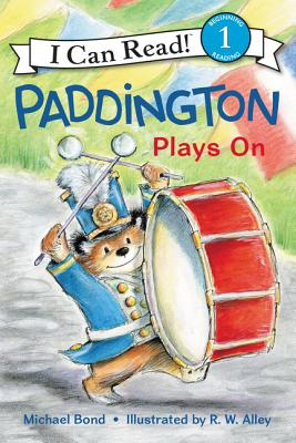 Paddington Plays On (I Can Read Level 1) Cover Image