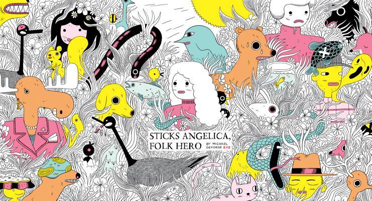 Sticks Angelica, Folk Hero Cover Image