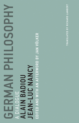 German Philosophy, Volume 11: A Dialogue Cover Image