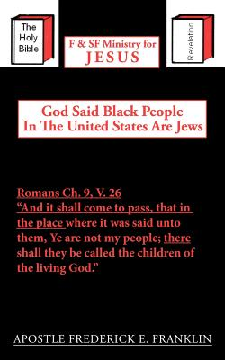 God Said Black People in the United States Are Jews Cover Image