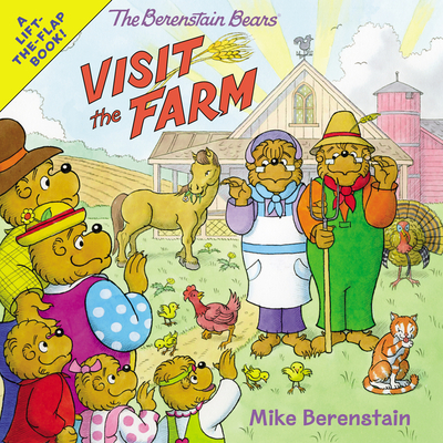 The Berenstain Bears Visit the Farm Cover Image