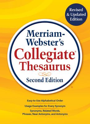 Merriam-Webster's Collegiate Thesaurus, Second Edition Cover Image