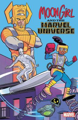 Moon Girl And The Marvel Universe cover