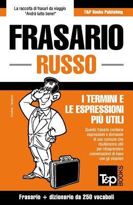 Frasario Italiano-Russo e mini dizionario da 250 vocaboli Cover Image