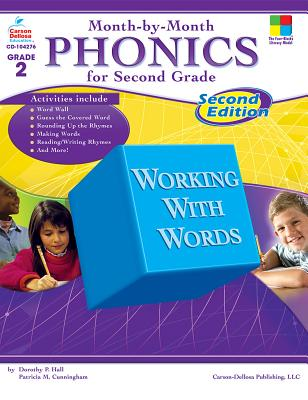 Month-By-Month Phonics for Second Grade Cover Image