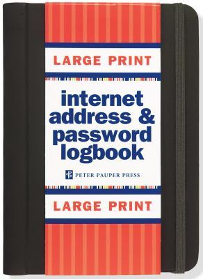 Internet Log Bk Large Print Black Cover Image