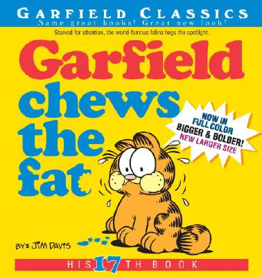Garfield Chews the Fat: His 17th Book Cover Image