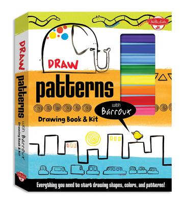 Draw Patterns with Barroux Drawing Book & Kit Cover