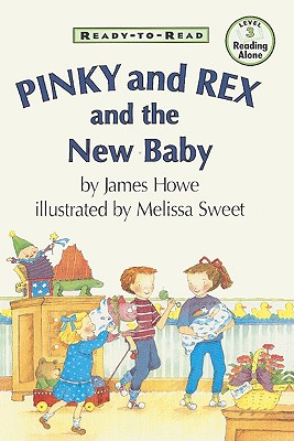 Cover for Pinky and Rex and the New Baby