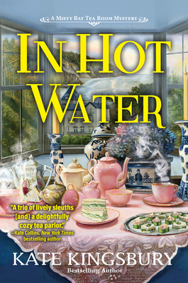 In Hot Water: A Misty Bay Tea Room Mystery Cover Image
