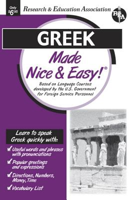 Greek Made Nice & Easy (Rea's Language Series) Cover Image
