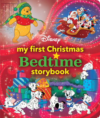 My First Disney Christmas Bedtime Storybook (My First Bedtime Storybook) Cover Image