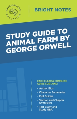 Study Guide to Animal Farm by George Orwell Cover Image