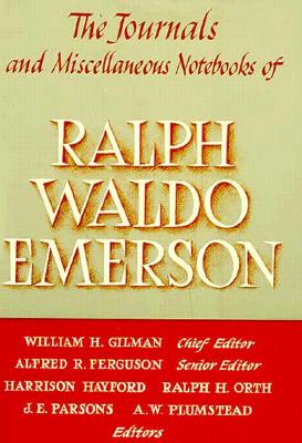 Journals and Miscellaneous Notebooks of Ralph Waldo Emerson, Volume VIII Cover