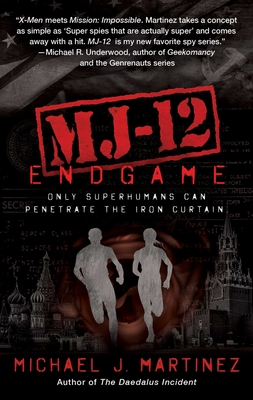 MJ-12: Endgame: A MAJESTIC-12 Thriller Cover Image