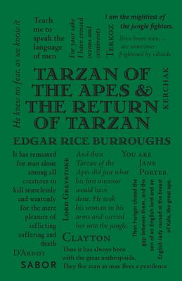 Tarzan of the Apes & The Return of Tarzan (Word Cloud Classics) Cover Image