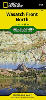 Wasatch Front North (National Geographic Trails Illustrated Map #709) Cover Image