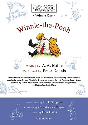 Winnie-The-Pooh [With Headphones] (A.A. Milne's Pooh Classics #1) Cover Image
