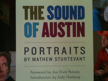 The Sound of Austin: Portraits by Mathew Sturtevant Cover Image