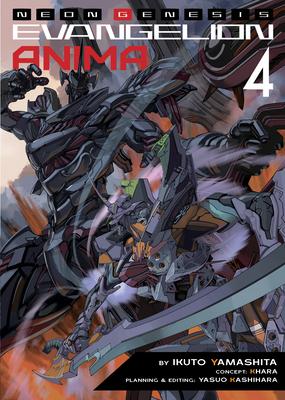 Neon Genesis Evangelion: ANIMA (Light Novel) Vol. 4 Cover Image