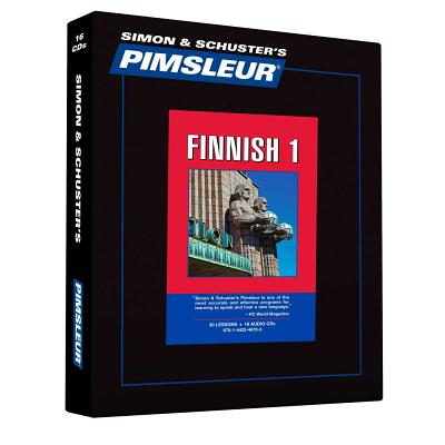 Pimsleur Finnish Level 1 CD: Learn to Speak and Understand Finnish with Pimsleur Language Programs (Comprehensive #1) Cover Image