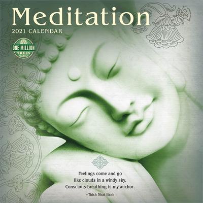 Meditation 2021 Wall Calendar Cover Image