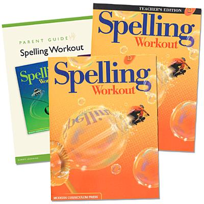 Spelling Workout Homeschool Bundle Level D Copyright 2002 [With Parent Guide and Teacher's Guide] Cover Image