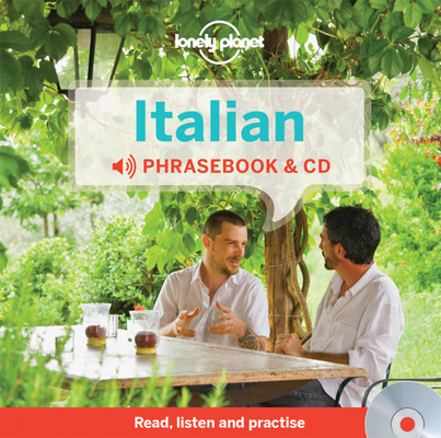 Lonely Planet Italian Phrasebook and Audio CD Cover Image