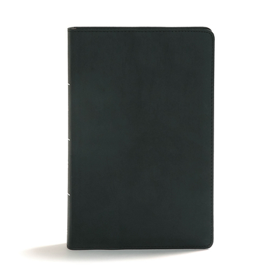 Cover for CSB Disciple's Study Bible, Black LeatherTouch