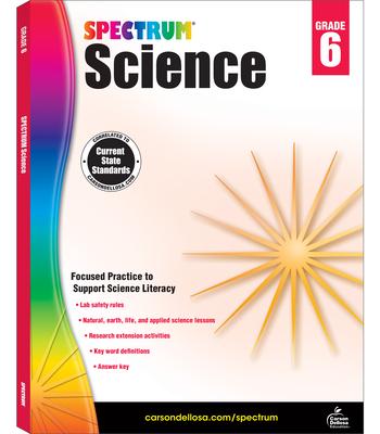 Spectrum Science, Grade 6 Cover Image