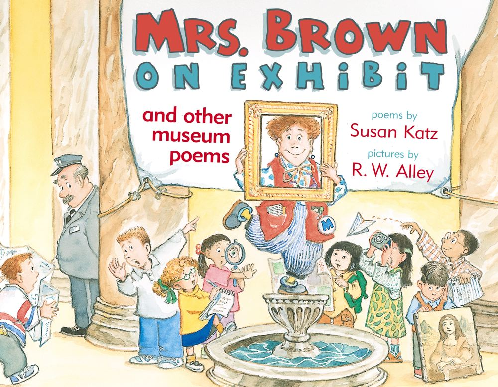 Mrs. Brown on Exhibit Cover